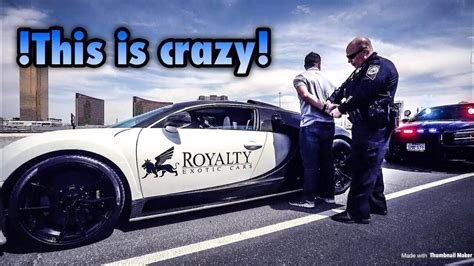 They decided to make this fastest car in their company situated at molsheim, france. Bugatti gets pulled over and owner gets arrested!! - YouTube