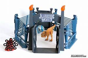 Jurassic World T-Rex Lockdown | Jurassic Toys