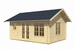 Haus Bausatz Holz : gartenhaus skanholz esbjerg 45mm blockbohlen holzhaus bausatz vom garten fachh ndler ~ Whattoseeinmadrid.com Haus und Dekorationen