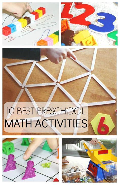 preschool math activities    school early learning