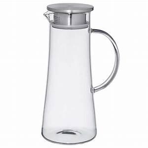 Glaskaraffe 2 Liter : tea 4 you glaskaraffe eisteekrug glossy ~ Whattoseeinmadrid.com Haus und Dekorationen