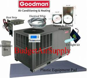 3 Ton 14 Seer Goodman Heat Pump U0026quot All In One U0026quot Package Unit