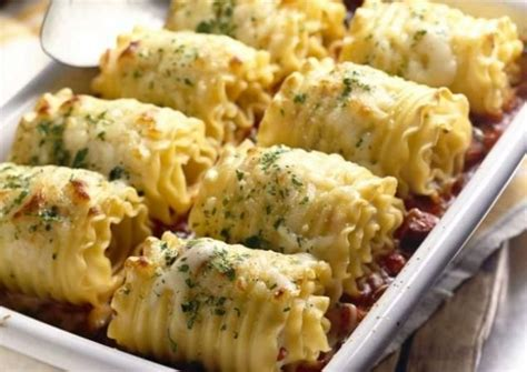 Chicken And Cheese Lasagna Rollups  Todaycom