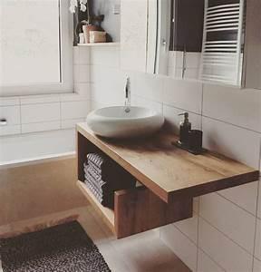 Waschtisch Holz Rustikal : die besten 25 waschtisch massivholz ideen auf pinterest waschtische in holz waschtisch klein ~ Frokenaadalensverden.com Haus und Dekorationen