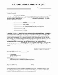 Rent Overdue Notice Late Rent Notice 1 Legalforms Org