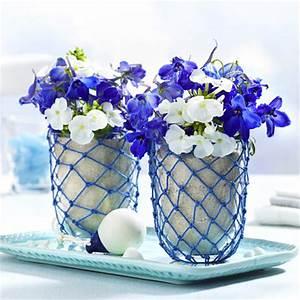 Maritime Möbel Blau Weiß : maritime tischdeko ideen in blau wei ~ Bigdaddyawards.com Haus und Dekorationen