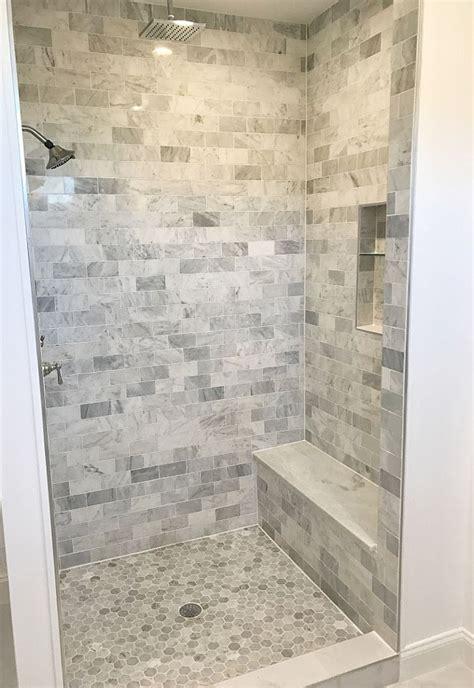 Bathroom Shower Floor Tile Ideas by Shower Tile Shower Tile Ideas Shower Floor Is Carrara