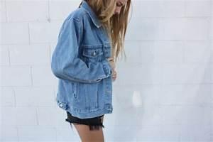 Oversized Jeansjacke gesucht! (Mode Kleidung Klamotten)