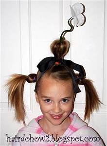 Hairdo How-to: Crazy Hair Day: The Flowerpot | Halloween ...