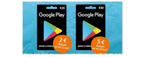 google play karten rabatt im juli  aktionen im check