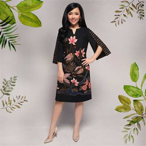 model dress batik terkini  fashionable  harga