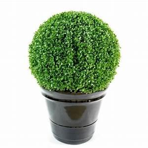 Boule De Buis Artificiel : buis artificiel boule regular artificiel diam 55 cm 179 00 ~ Melissatoandfro.com Idées de Décoration
