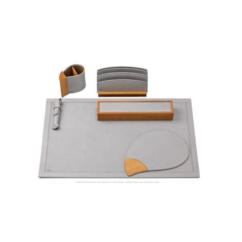 parure bureau parure de bureau gris alisier