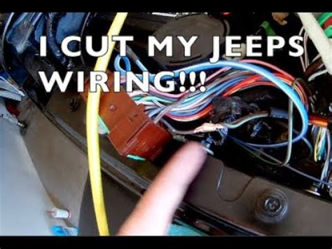 How Wire Jeep Wrangler Hardtop Harness Youtube