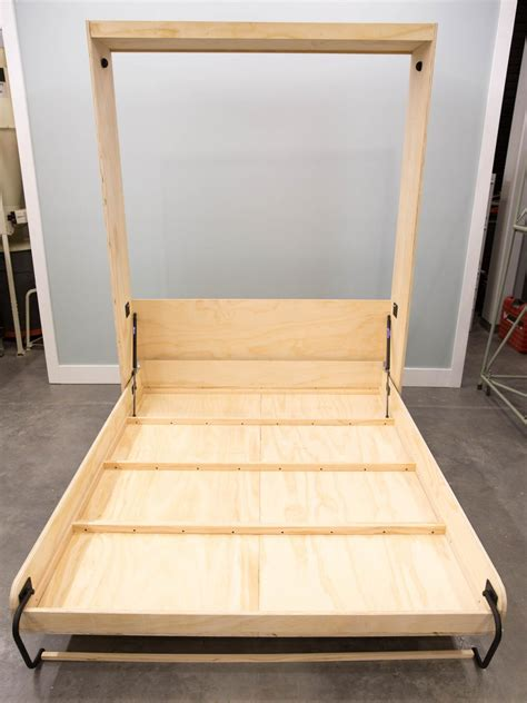 bed frame support slats how to build a murphy bed how tos diy