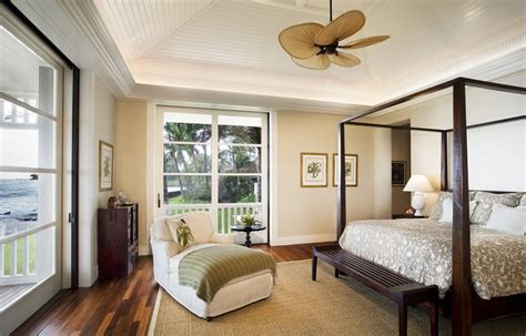 Terrific Caged Ceiling Fan With Area Rug Blue And Brown