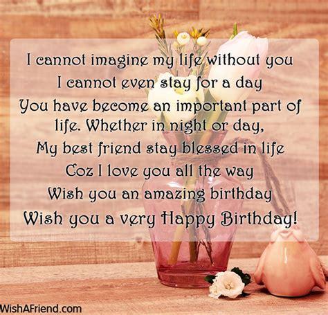 Best Wishes To A Friend Best Friend Birthday Wishes
