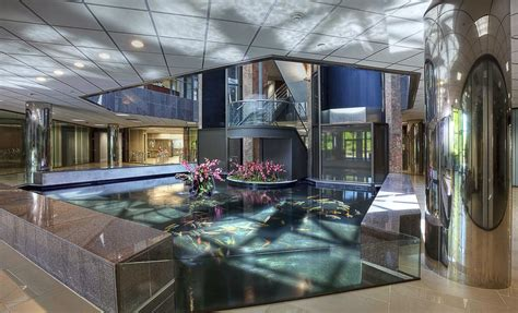 Homes With Indoor Ponds by Koi Pond Viewing Window Koi Pond Okeanos