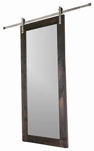 Modern Mirror Barn Door - Modern - Interior Doors - by NW