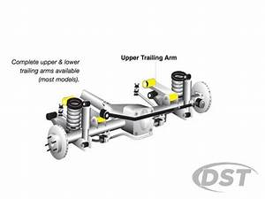 Front Control Arm Bushings - Jeep Wrangler Tj
