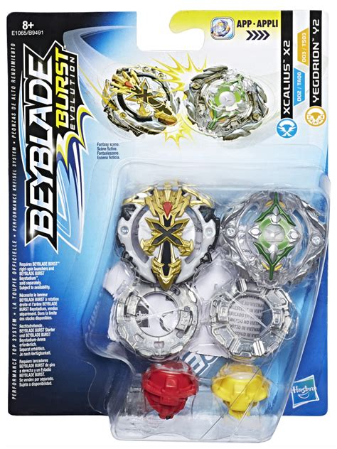 xcalius  yegdrion  dual pack beyblade wiki