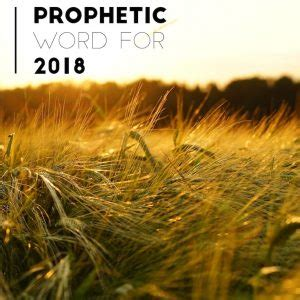 Prophetic Word For 2018 The Spirit Is Coming To Your 'waiting Room