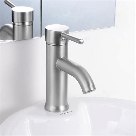 Modern Bathroom Lavatory Vessel Sink Faucet Singleone