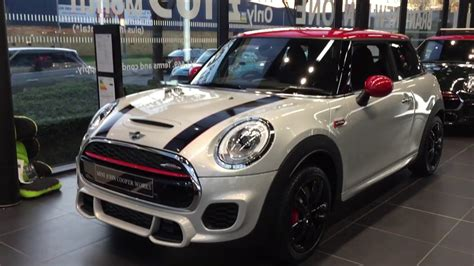 mini cooper  limited edition jcw racing seats