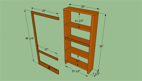 build  bookcase wall howtospecialist