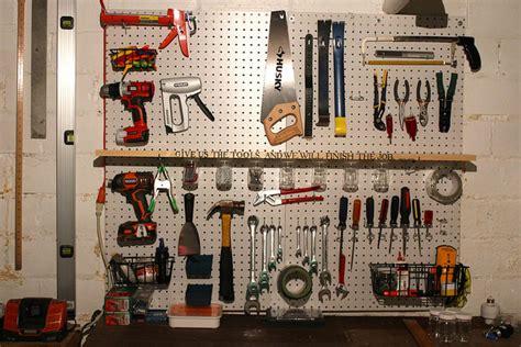 garage peg board 8 ways to make garage organization painless