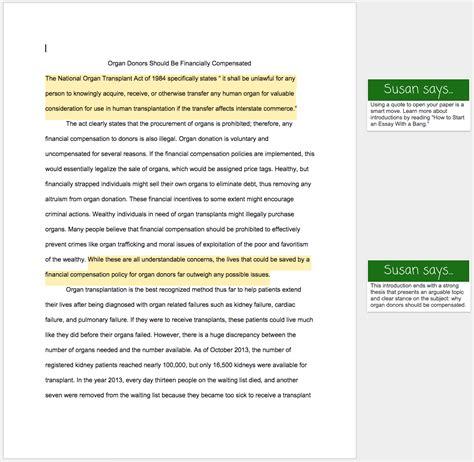 argumentative essay examples  examples