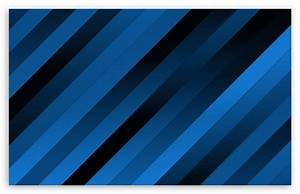 Blue Diagonal Stripes 4K HD Desktop Wallpaper for 4K Ultra ...