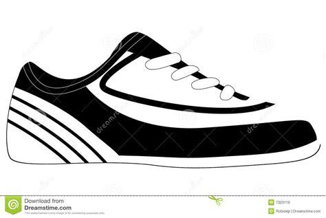 soccer shoe vector illustration stock vector