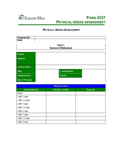 assessment templates examples printable templates
