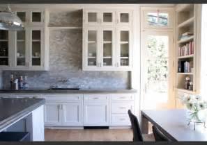 white kitchen backsplash ideas marble mosaic backsplash