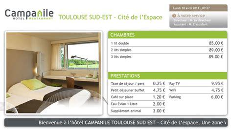 tarif chambre hotel ewelcome logiciel d 39 affichage dynamique de tarifs d