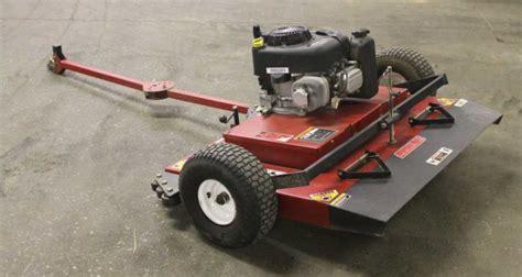 swisher finish cut pull  trail mower