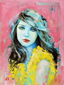 Portrait Paintings by Emma Uber | Portrait, Portrait ...