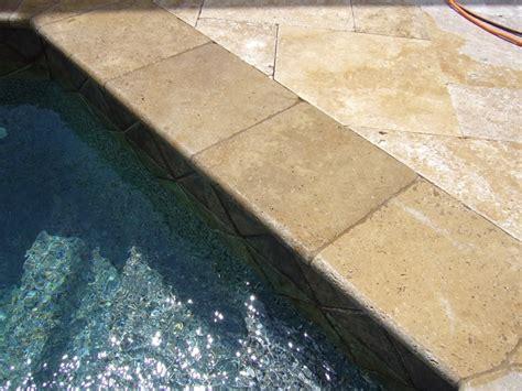 noce travertine pool coping noce travertine pool deck