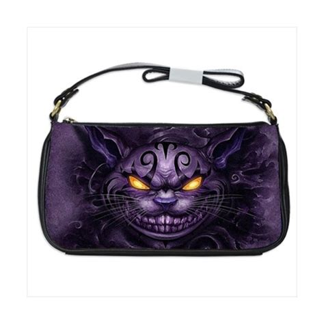 Alice Madness Returns Cheshire Cat  Shoulder Clutch Bag