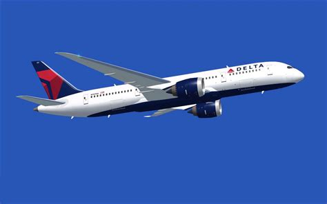 Delta Airlines Boeing 787-8 for FSX