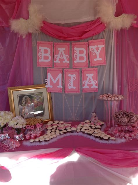 Baby Shower Theme For by Themed Baby Shower Im Thinking More Gold White Than