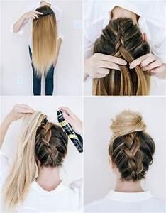 Coiffer Un Carré : se coiffer facilement cheveux long ~ Farleysfitness.com Idées de Décoration