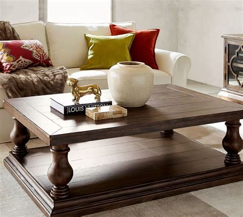 pottery barn coffee tables lorraine coffee table pottery barn