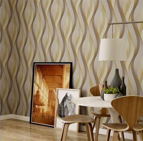 contoh motif wallpaper pilihan  ruang tamu