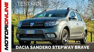Defaut Dacia Sandero : dacia sandero stepway brave test drive youtube ~ Medecine-chirurgie-esthetiques.com Avis de Voitures