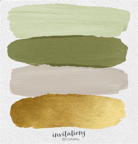 the perfect palette sage cedar tea gold boho