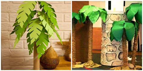 palmera de material reciclado palmeras de carton imagui