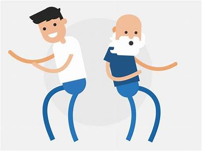 Dancing They Animated Animation Icon Dribbble Effects