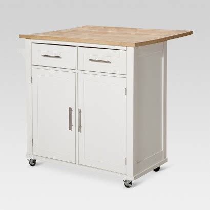 kitchen island cart target threshold kitchen island target